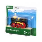 Train - Steam Engine - Brio Wooden Trains 33617