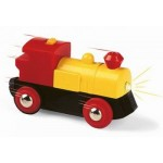 Train - Battery Powered Engine Two Way - Brio Wooden Trains 33594