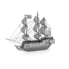 Metal Earth - Black Pearl Ship 3D Model