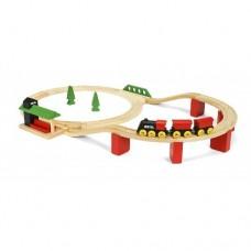 Train - Travel Switching Set - Brio Wooden Trains 33512