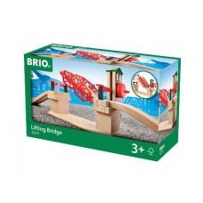 Train - Lifting Bridge 3 pce - Brio Wooden Trains 33757