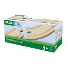 Train - Wooden Track Small Curved 4pc  - Brio Wooden Trains 33337