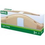 Train - Viaduct Bridge 3 pce - Brio Wooden Trains 33351