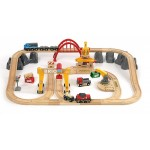 Train - Cargo Deluxe Set - Brio Wooden Trains 33097