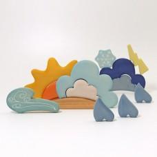 Building Set Weather -  Grimm's Toys