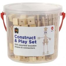 Construct & Play -  Plain Wood
