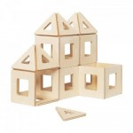 Earth Tiles - Wooden Magnetic Construction