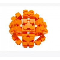 Flexo Bricks - Lego Construction - Beginners Pack Orange
