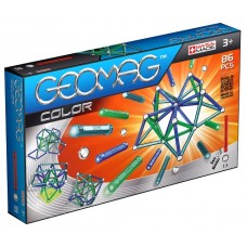 Geomag Color - 86 pce Set - Magnetic Sticks & Balls