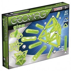 Geomag Glow in Dark - 40 pce Set - Magnetic Sticks & Balls