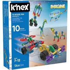 K'Nex Construction - 10 Model Building Set