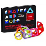 Magformers Shapes & More 33 pc Tin Box Set