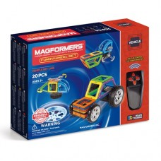 Magformers Funny Wheel Set - 20pce - Remote Control