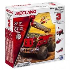 Meccano - 3 Model Set Fire Engine - Construction