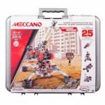 Meccano 25 Model Super Construction Set in Case