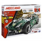 Meccano 5 Model Set - Roadster Car - Construction