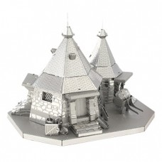 Metal Earth - Harry Potter Hagrid's Hut 3D Model
