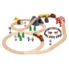 Train Set - Large Countryside & Cargo Set - Brio