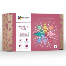 Connetix PASTEL Geometry Pack - Magnetic Construction - 40 pc Set  LIMITED STOCK