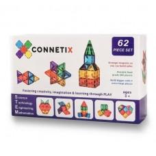 Connetix - Magnetic Construction - 62 pc Set