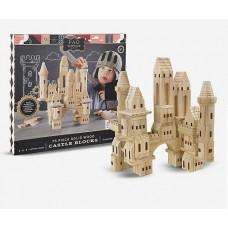 Castle Wooden Blocks 75pc - FAO Schwarz