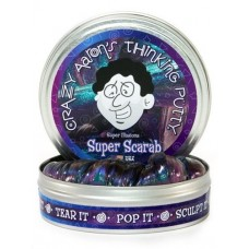 "Crazy Aaron's Thinking Putty - 4"" Tin - Super Scarab"