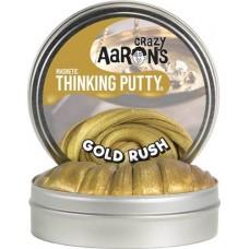 "Crazy Aaron's Thinking Putty - 4"" Tin - Gold Rush"