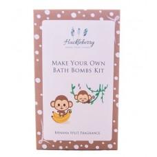 Make Your Own Bath Bomb Kit - Banana Split - Huckleberry