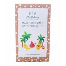 Make Your Own Bath Bomb Kit - Tropicana - Huckleberry
