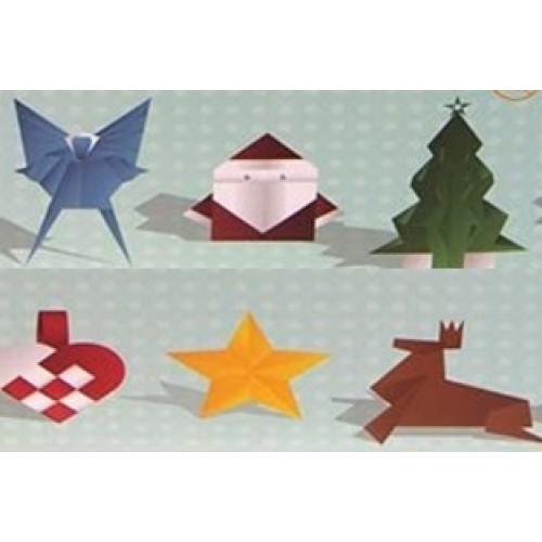 D coration de no l origami decoration noel origami for Decoration de noel origami