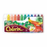 Colorix Silky Crayons 12 Pack - Amos