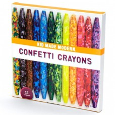 Crayons - Confetti Crayons - Kid Made Modern