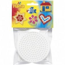 Hama Bead Peg Boards - Square/Round/Hexagonal Small