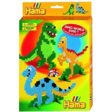 Hama Beads Dinosaur Box