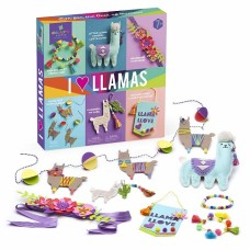 I Love Llamas Craftastic - Anne Williams Craft-tasitc