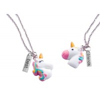 Make Your Own BFF Necklace - Unicorns - Huckleberry