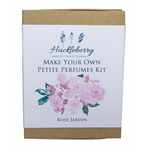 Make Your Own Petite Perfume Kit - Rose Jardin - Huckleberry