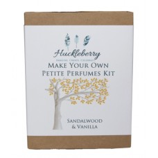 Make Your Own Petite Perfume Kit - Sandalwood and Vanilla - Huckleberry