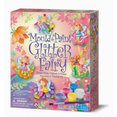 Mould & Paint Glitter Fairy - 4M Craft Kit