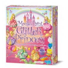 Mould & Paint Glitter Princess - 4M Craft Kit