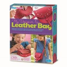 My Designer Faux Leather Bag - Kidzmaker - 4M Craft
