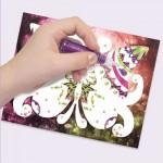 Glitter & Foil Art - Nebulous Stars