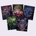 Scratch Art - Nebulous Stars