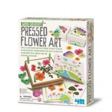 Pressed Flower Kit- Green Creativity - 4M