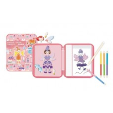 Puzzle & Draw Magnetic Kit - Fairy Tales - mierEdu