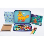 Puzzle & Draw Magnetic Kit - Crazy Monsters - mierEdu