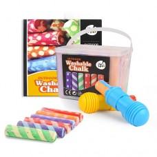 Chalk - Sidewalk Pack - 24 colours - 2 Holders
