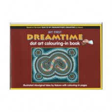 Dreamtime Dot Art Colouring-In Book 1