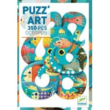 350 pc Djeco Art Puzzle -  Octopus