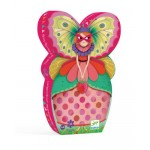 36 pc Djeco Puzzle - The Butterfly Lady - Silhouette Box